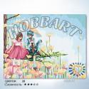 Количество цветов и сложность Грибной дождь Раскраска по номерам на холсте Hobbart HB3040060
