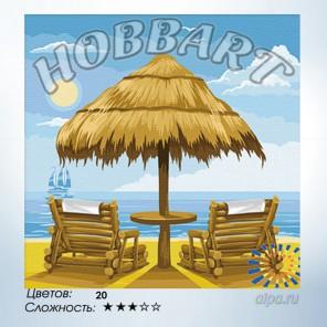 Количество цветов и сложность Под летним солнцем Раскраска по номерам на холсте Hobbart HB3030010