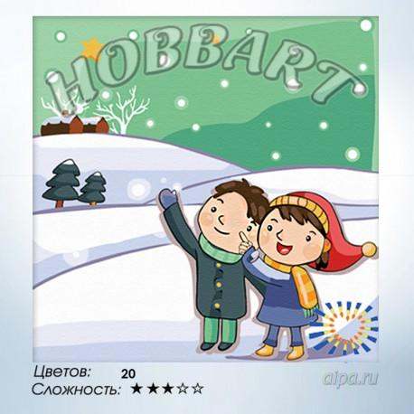 Желание на звезду Раскраска по номерам на холсте Hobbart ...