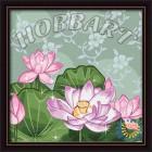 В рамке Жемчужный лотос Раскраска по номерам на холсте Hobbart HB3030026