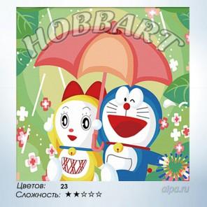 Количество цветов и сложность Все для тебя Раскраска по номерам на холсте Hobbart HB3030034