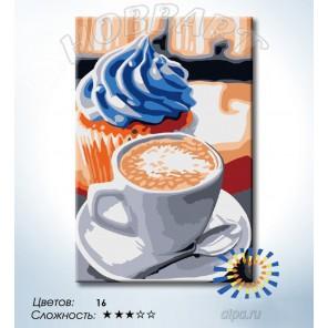 Количество цветов и сложность Лучший завтрак Раскраска по номерам на холсте Hobbart HB2030103-LITE