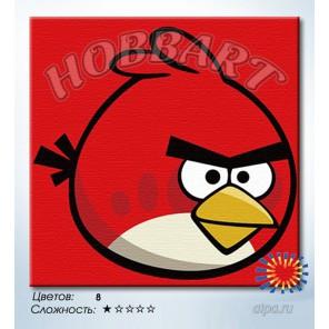 Количество цветов и сложность Неудержимый красный Раскраска по номерам на холсте Hobbart HB2020049