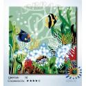 Мир на дне моря Раскраска по номерам на холсте Hobbart