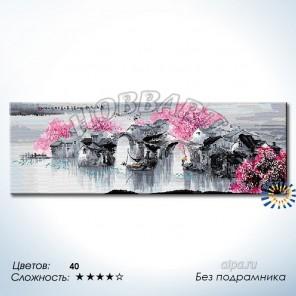 Количество цветов и сложность В розовой дымке Раскраска по номерам на холсте Hobbart DH40120012