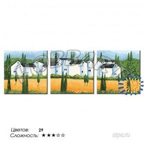 Количество цветов и сложность Городок в Провансе Раскраска по номерам на холсте Hobbart PH340120009