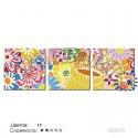 Количество цветов и сложность Цветочное изобилие Раскраска по номерам на холсте Hobbart PH340120059