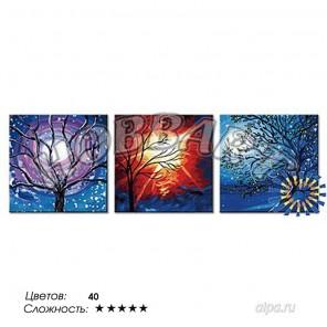 Количество цветов и сложность Мистический свет Раскраска по номерам на холсте Hobbart PH340120069