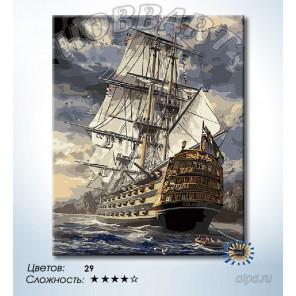 Количество цветов и сложность Экскалибур Раскраска по номерам на холсте Hobbart DZ4050026-LITE