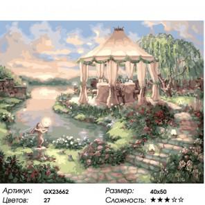 Количество цветов и сложность В предвкушении Раскраска картина по номерам на холсте GX23662