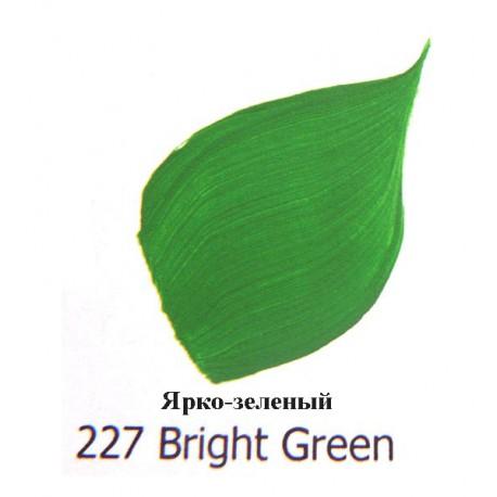 "Акриловая краска FolkArt Plaid ""Ярко-зеленый"" 227"