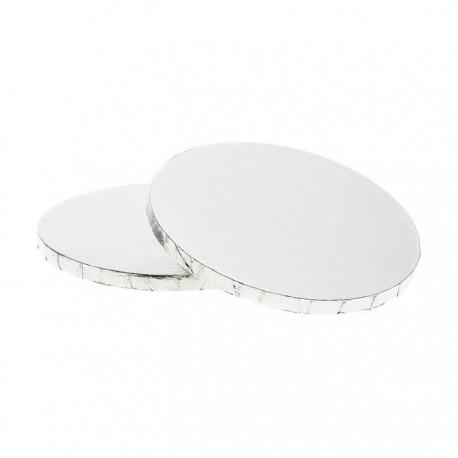 Серебристая круглая подставка для торта 25,4см Wilton ( Вилтон )