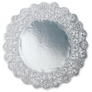 Серебро Салфетки 25,4см под торт Wilton ( Вилтон )