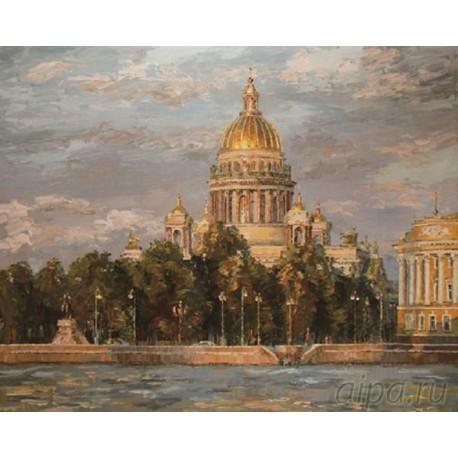 KH0132 Исаакиевский собор. Санкт-Петербург Раскраска ...
