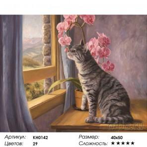 Количество цветов и сложность Манящий аромат Раскраска картина по номерам на холсте KH0142