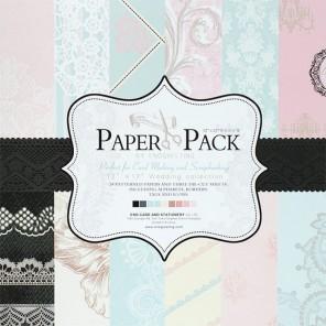 Свадебные кружева Набор бумаги 30,5х30,5 см для скрапбукинга, кардмейкинга Белоснежка