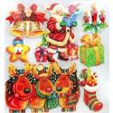 Поезд Деда Мороза Набор 3D стикеров Белоснежка 2690-SB