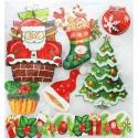 Новогодние подарки Набор 3D стикеров Белоснежка 2691-SB