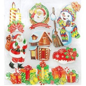 Домик Деда Мороза Набор 3D стикеров Белоснежка 2693-SB