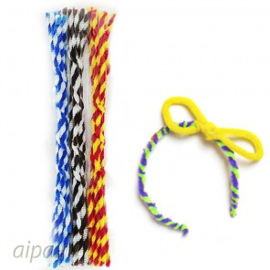 Ралли Спираль Синельная пушистая проволока (шенил) для поделок и детского творчества 352-PM