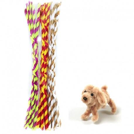 Праздник Спираль Синельная пушистая проволока (шенил) для поделок и детского творчества 353-PM