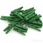 Зеленые Прищепки декоративные Белоснежка 853-DB