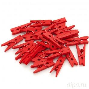 Красные Прищепки декоративные Белоснежка 855-DB