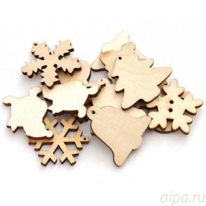 Фигуры Деревянные чипборды Белоснежка 842-DB