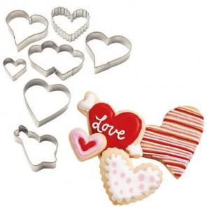 Сердечки Формы для вырезания печенья Wilton ( Вилтон )