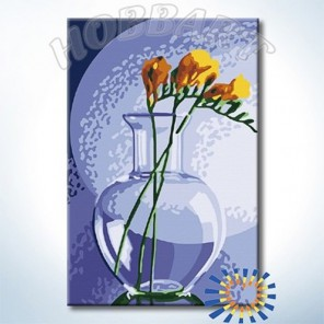 В серебряном свете Раскраска по номерам на холсте Hobbart HB2030093-Lite