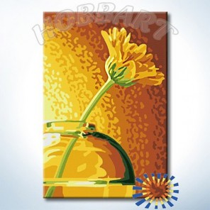 В золотом свете Раскраска по номерам на холсте Hobbart HB2030095-Lite