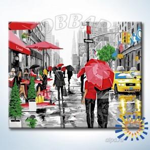 Количество цветов и сложность Уют мегаполиса Раскраска по номерам на холсте Hobbart HB4050388-Lite