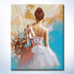 Количество цветов и сложность Жизнь в танце Раскраска по номерам на холсте Hobbart DZ4050061-Lite