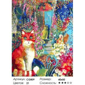 Количество цветов и сложность Романтическое утро Раскраска картина по номерам на холсте CG809