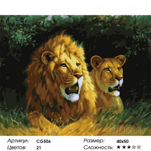 Грозная пара Раскраска картина по номерам на холсте