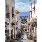 Испания. Михас Раскраска картина по номерам на холсте Белоснежка 251-AS