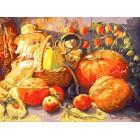 Домовые Раскраска картина по номерам на холсте Белоснежка 228-AS