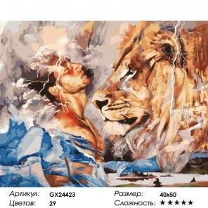 Тотемный дух Раскраска картина по номерам на холсте