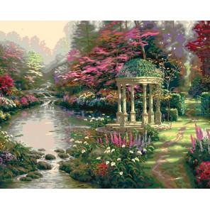Умиротворенный сад Раскраска картина по номерам Plaid