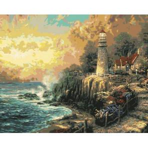 Мирный свет Раскраска картина по номерам Plaid