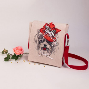 Малышка йорк Набор для шитья и вышивания, сумка МАТРЕНИН ПОСАД