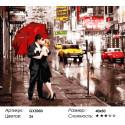 Количество цветов и сложность Вдвоем в Нью-Йорке Раскраска по номерам на холсте Menglei Z-GX5003