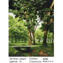 Количество цветов и сложность Мостик в лесу Раскраска по номерам на холсте Menglei Z-GX5677