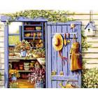 Дом садовода Раскраска по номерам на холсте Menglei Z-GX6117