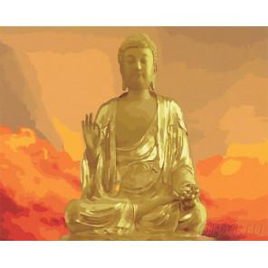 Солнечный Будда Раскраска по номерам на холсте Menglei Z-GX24465