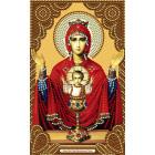 Образ Пресвятой Богородицы Неупиваемая Чаша Алмазная частичная мозаика на подрамнике Color Kit IK008
