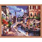 Венеция Алмазная мозаика на подрамнике KM001