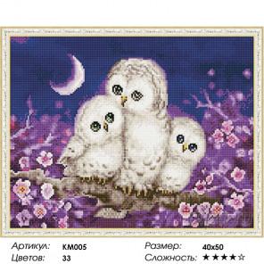 Ночные обитатели Алмазная мозаика на подрамнике