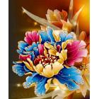 Королевская хризантема Алмазная вышивка мозаика HS-8089