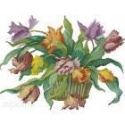 Голландские тюльпаны Алмазная вышивка мозаика HS-8268